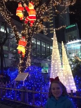 Santa Tree Clombers