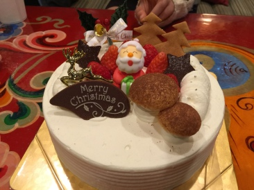 Traditional Japanese Christmas Cake