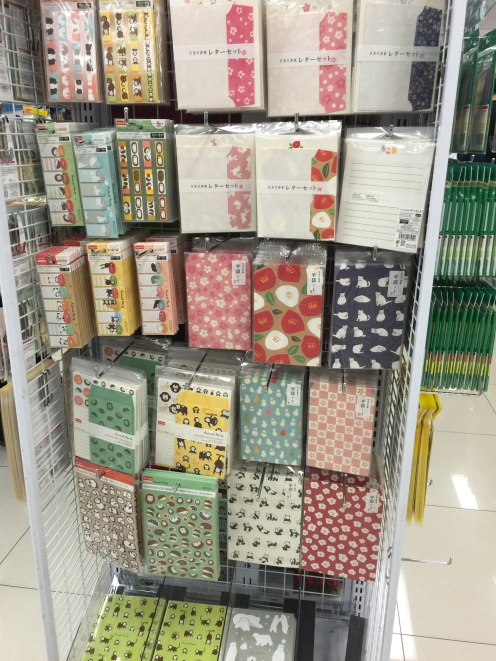 Japanese stationery, stickers, notes, writing sets, beautiful