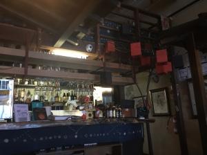 interior and bar at japanese restaurant wabi sabi salon